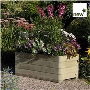 "Rowlinson Marberry Rectangular Planter 3'3"" x 1'7"" (1.0m x 0.50m)"