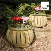Rowlinson Marberry Ball Planters (Pack of 2)