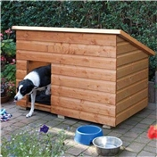 "Rowlinson Large Dog Kennel 4'6"" x 2'11"" (1.38m x 0.9m)"