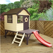 Snug Tower + Slide Playhouse 4ft x 4ft