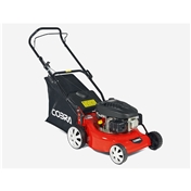 Petrol Rotary Push Lawnmower - 46cm - Cobra M46B - Free Next Day Delivery*