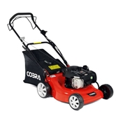 Self Propelled Petrol Rotary Lawnmower - 46cm - Cobra M46SPB - Free Oil & Free Next Day Delivery*