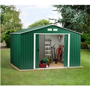 10ft x 10ft Value Metal Shed (3.21m x 3.02m)