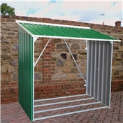 6ft x 2ft Deluxe Metal Woodstore (1.66m x 0.62m)