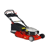 Electric Start Self Propelled Rear Roller Rotary Lawnmower - 46cm - Cobra RM46SPCE - Free Oil & Free Next Day Delivery*