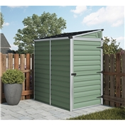 6ft x 4ft Plastic Apex Shed (1.86m x 1.25m) *FREE 48 HOUR DELIVERY*