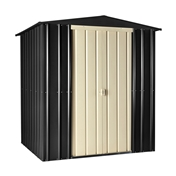 **PRE ORDER NOW DUE IN STOCK MID MAY**  6ft x 5ft Premier EasyFix Slate Grey Apex Shed (1.71m x 1.44m)