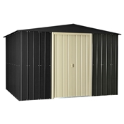 **PRE ORDER NOW DUE IN STOCK MID MAY** 10ft x 8ft Premier EasyFix Slate Grey Apex Shed (3.07m x 2.47m)