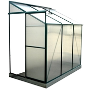 Cambridge Lean-To Greenhouse 4ft x 6ft