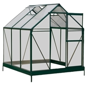 6ft x 6ft Cambridge Greenhouse + FREE BASE
