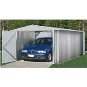 10ft x 20ft Utility Zinc Metal Shed (3m x 6.02m) *FREE 48HR DELIVERY