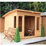 10ft x 8ft Helios Summerhouse (12mm T&G Floor) - 48HR & SAT Delivery*