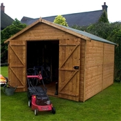 12ft x 8ft Deluxe Workshop Windowless (12mm T&G Floor & Roof)