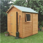 7ft x 5ft Deluxe Tongue and Groove Shed (12mm Tongue and Groove Floor)