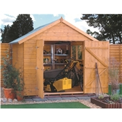 10ft x 8ft Deluxe Tongue and Groove Shed (12mm Tongue and Groove Floor)