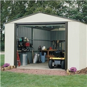 12ft x 10ft Murryhill Metal Garage (3.71m x 2.97m)