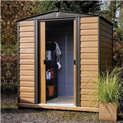6ft x 5ft Deluxe Woodvale Metal Shed (1.94m x 1.51m)