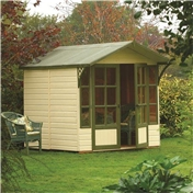 9ft x 7ft Eaton Rowlinson Summerhouse (12mm T&G Floor & Roof)