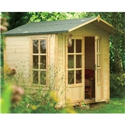 9ft x 7ft Marsden Rowlinson Log Cabin