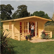16ft x 15ft Baltic Rowlinson Chalet