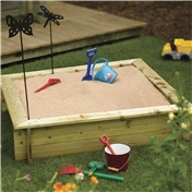 4ft x 4ft Rowlinson Sandpit (1200mm x 1200mm)