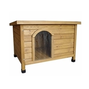 Burnaby Dog Kennel (Flat Roof) Medium