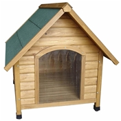 Sanderson Dog Kennel (Apex Roof) Medium