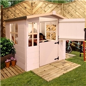 Neptune Plus 4ft x 4ft Playhouse