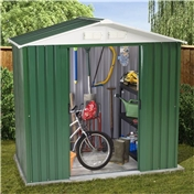 6ft x 4ft Value Metal Shed (2.01m x 1.23m) + FREE 72HR DELIVERY*