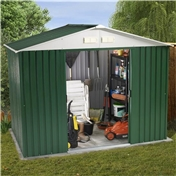 8ft x 6ft Value Metal Shed (2.61m x 1.84m) + FREE 72HR DELIVERY*