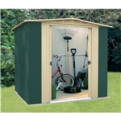 6ft x 6ft Premier Six Metal Shed (1.83m x 1.85m)