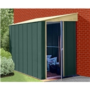 4ft x 6ft Premier Lean-To Metal Shed (1.23m x 1.84m)