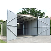 **PRE ORDER - DUE BACK IN STOCK 8TH SEPTEMBER** 10ft x 17ft Premier Metal Garage (3.07m x 5.26m)