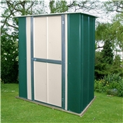 5ft x 3ft Deluxe Utility Metal Shed (1.58m x 0.92m)