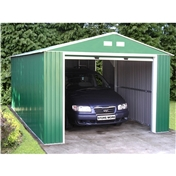 12ft x 32ft Value Metal Garage (3.72m x 9.65m)