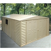 **PRE ORDER - DUE BACK IN STOCK 10TH NOVEMBER** 10ft x 16ft Duramax Plastic Pvc Garage With Steel Frame (3.22m x 4.80m)