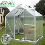 4ft x 6ft Eazi Click Greenhouse + FREE BASE