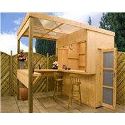 Outdoor Bar (2.39m x 3.51m) - 48HR & SAT Delivery*