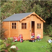 Playaway Lodge Rowlinson Playhouse 8ft x 7ft (2.47m x 2.08m)