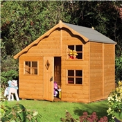 Playaway Rowlinson Swiss Cottage Playhouse (2.50m x 2.08m)