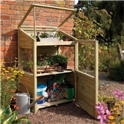 Deluxe Mini Greenhouse 3ft x 2ft
