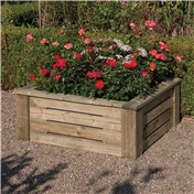 3ft x 3ft Deluxe Raised Planter