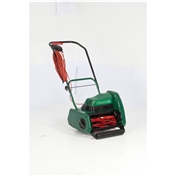 Allett Classic 12E Electric 340W Push Cylinder 30cm Lawnmower - Free Next Day Delivery*