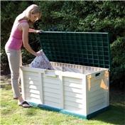 """4'7"""" x 2'0"""" Deluxe Plastic Garden Store Bench (1.4m x 0.61m)"""