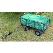 Metal Garden Cart with Removeable Liner and Tool Shelf - FREE 24HR DELIVERY