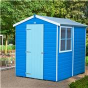 7ft x 5ft Tongue and Groove Apex Wooden Garden Shed / Workshop (12mm Tongue and Groove Floor)