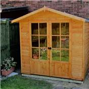 7ft x 5ft Wentworth Summerhouse (12mm T&G Floor)