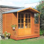 7ft x 7ft Beaufort Wooden Summerhouse With Verandah (12mm T&G Floor)
