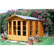 7ft x 10ft Lothbury Summerhouse (12mm T&G Floor & Roof)