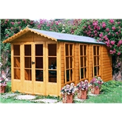 13ft x 7ft Buxton Summerhouse (12mm T&G Floor & Roof)